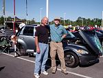 myself with dennis gage from my classic car tv show at Va.beach