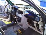 Another photo of the dash components removed.(Except for Ins. Cluster & Airbag covers.)