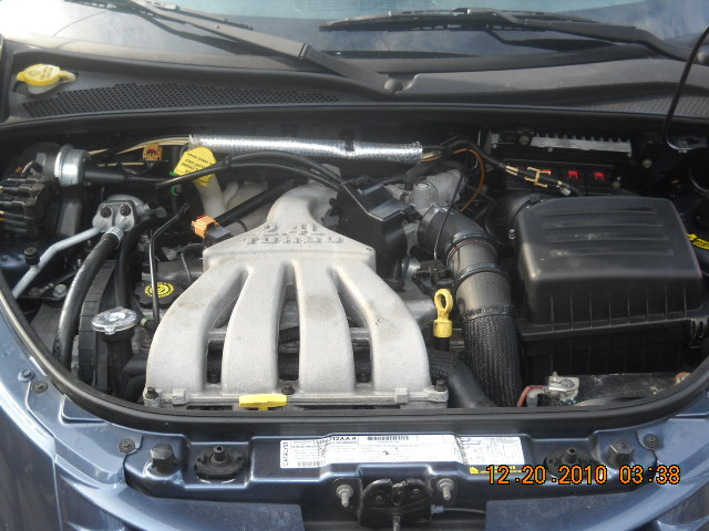 This Is The Engine Compartment Of Our 2003 Steel Blue Pt  Cruiser