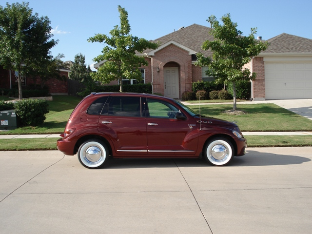 Whitewall Tires And Chrome Smoothie Rims Pt Cruiser Gallery