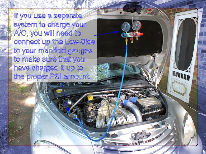 How To Vacuum Down Amp Charge Your A C System Pt Cruiser Forum